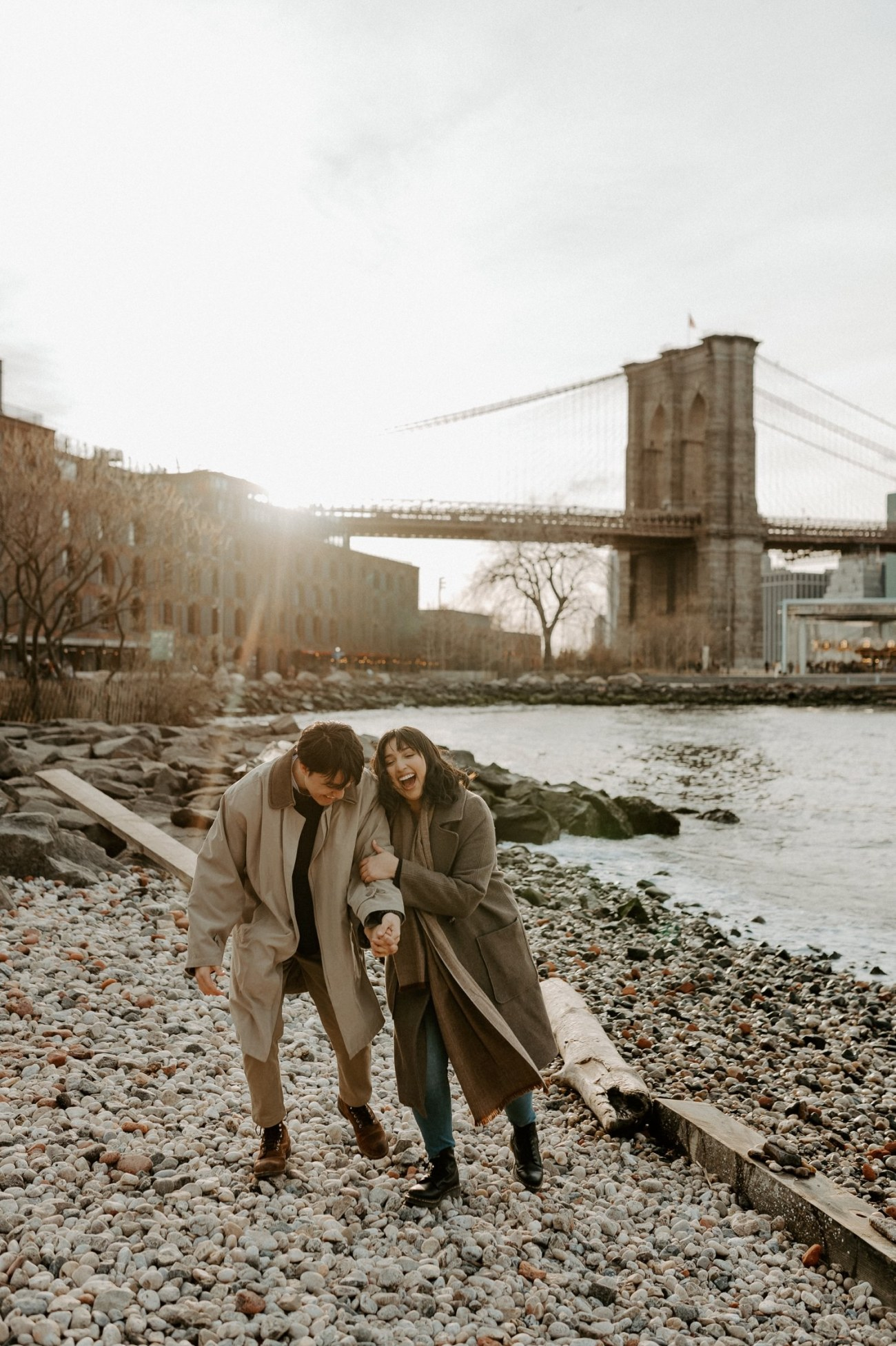 Dumbo Brooklyn Engagement Photos New York City Couple Session New York Wedding Photographer NYC Best Engagement Photos Location Anais Possamai Photography 31