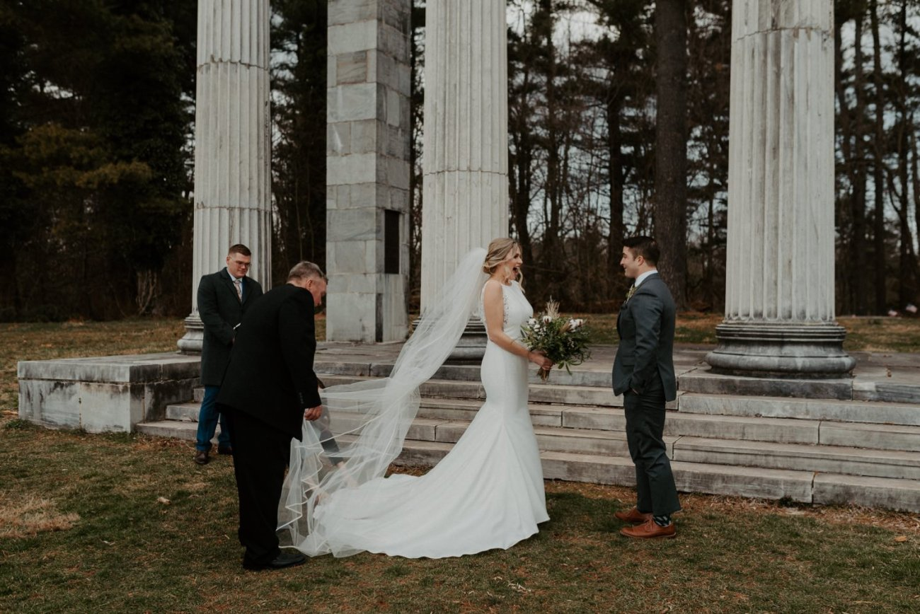 Princeton Battlefield Wedding Princeton University Elopement New Jersey Wedding Photographer Anais Possamai Photography 06