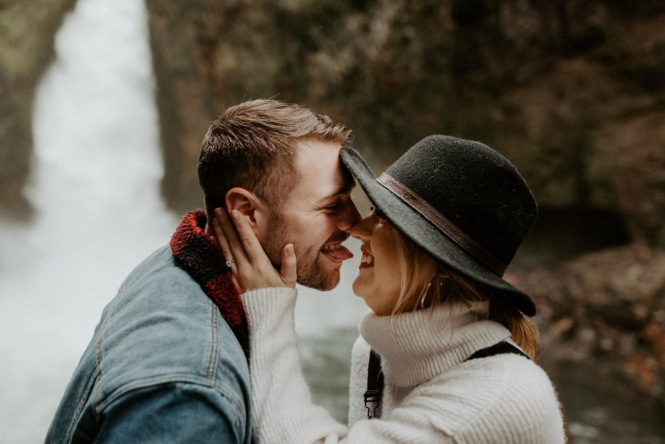 Wahclella Falls Engagement Session Columbia River Gorge Oregon Portland Wedding Photographer Anais Possamai Photography 76