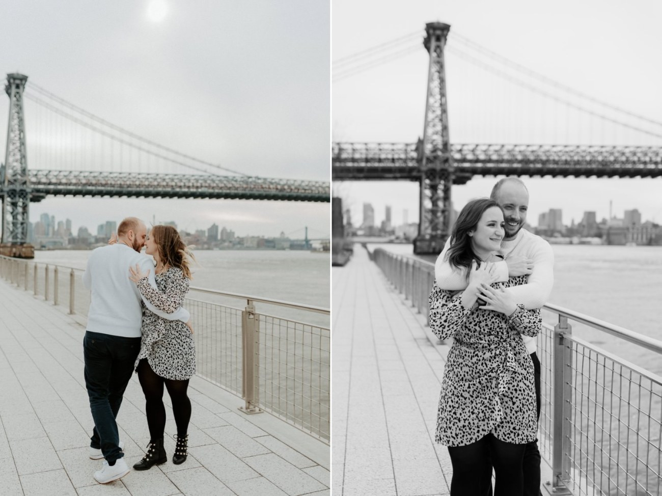 Williamsburg Brooklyn Couple Session Brooklyn Bridge Couple Photos Anais Possamai Photography 09