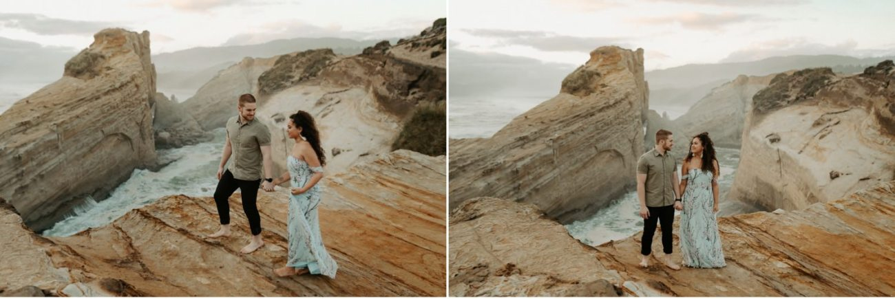 Cape Kiwanda Engagement Session Best Location In Oregon For Engagement Photos Portland Wedding Photographer Anais Possamai Photography 013