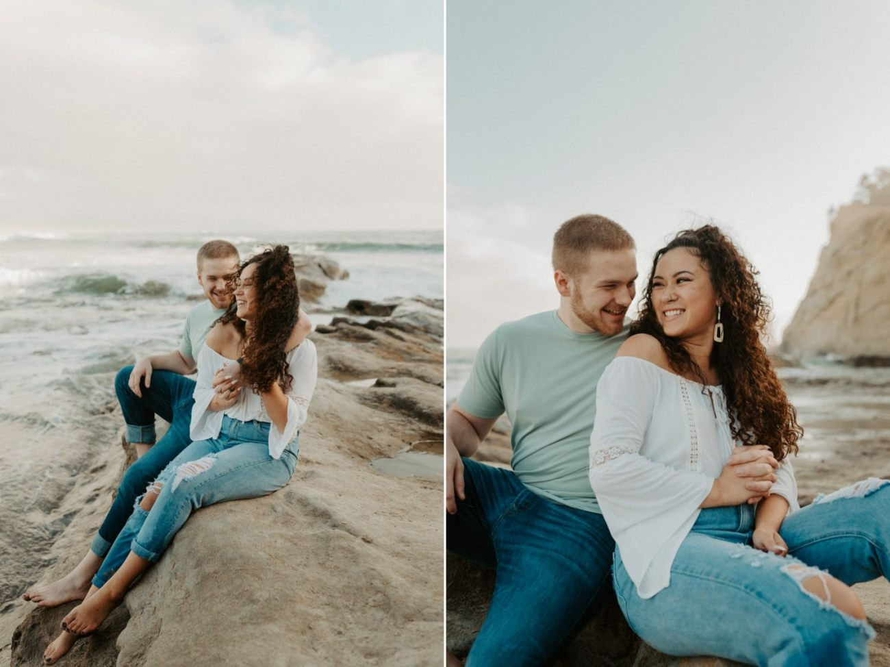 Cape Kiwanda Pacific City Oregon Couple Session Portland Wedding Photographer 010