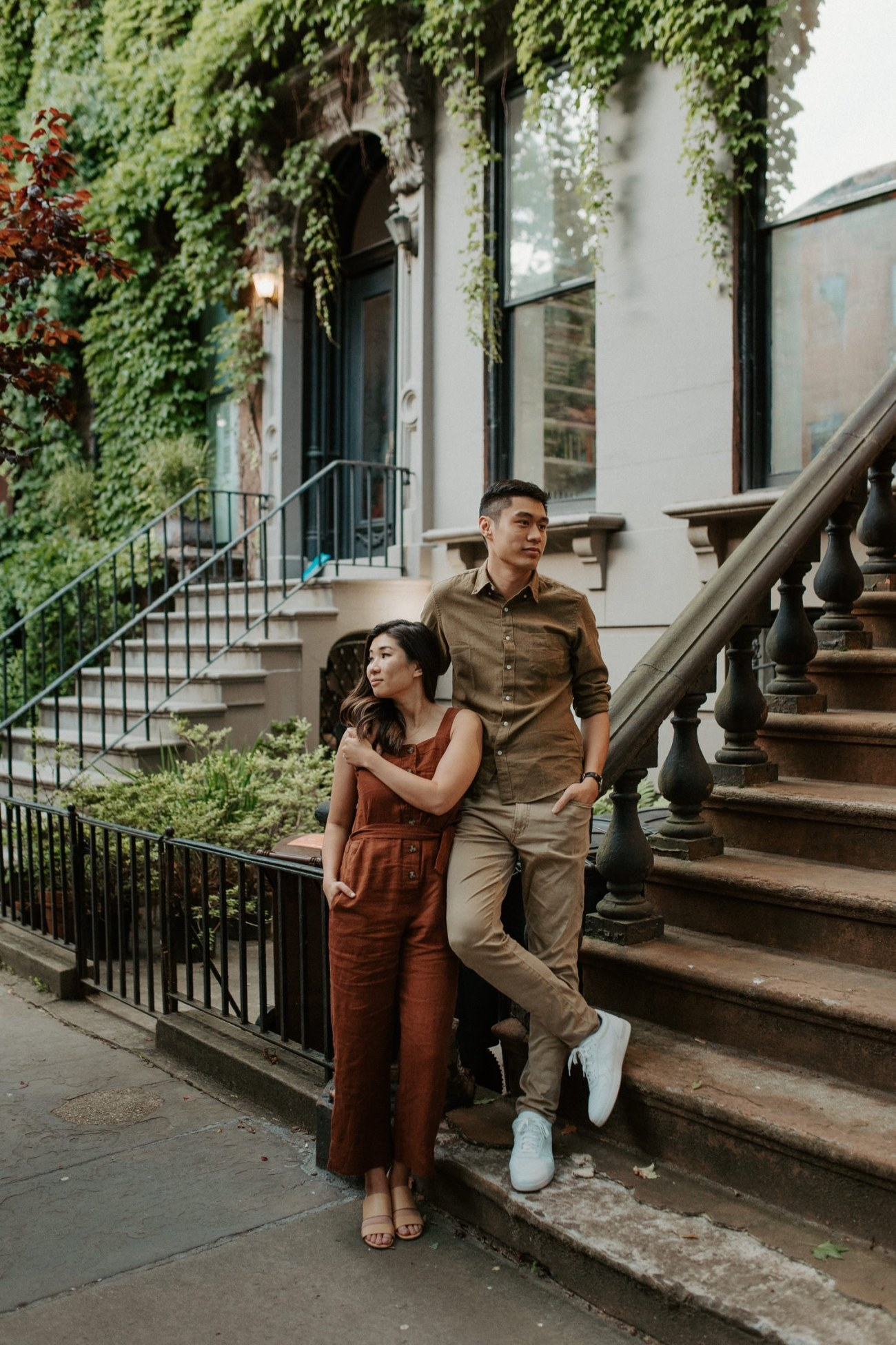 Fort Greene Brooklyn Engagement Session Brooklyn Wedding Photographer New York Wedding Photographer Anais Possamai Photography 016