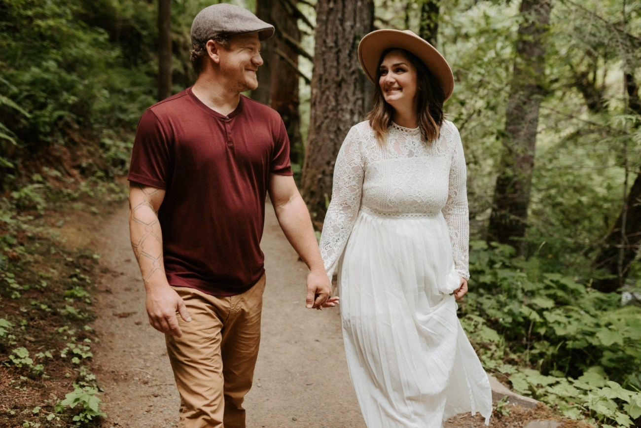 Silver Falls State Park Engagement Session North Falls Engagement Photos Portland Wedding Photographer Oregon Elopement Photographer Anais Possamai Photography 005