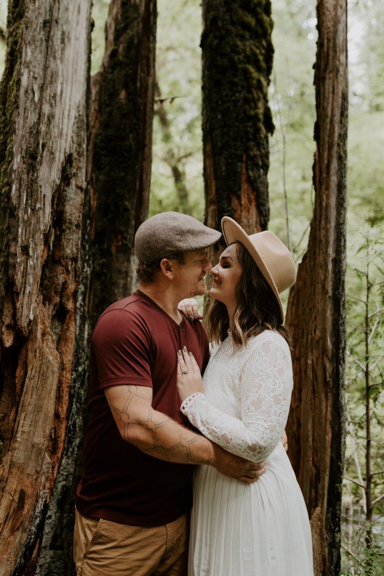 Silver Falls State Park Engagement Session North Falls Engagement Photos Portland Wedding Photographer Oregon Elopement Photographer Anais Possamai Photography 008