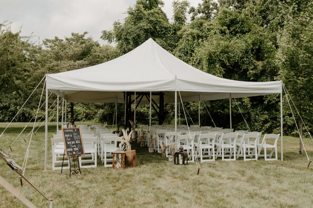 Outdoor Wedding ceremony site at Jacks Barn Oxford New Jersey Wedding venue. New Jersey Wedding Photographer NJ Wedding Venue Rustic Barn Wedding Anais Possamai Photography 035
