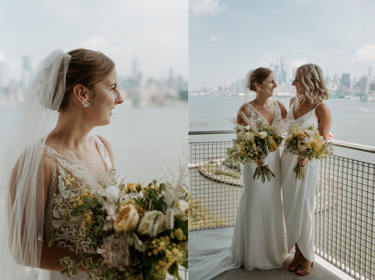 Antique Loft Hoboken Wedding New Jersey Wedding Photographer Anais Possamai Photography 013