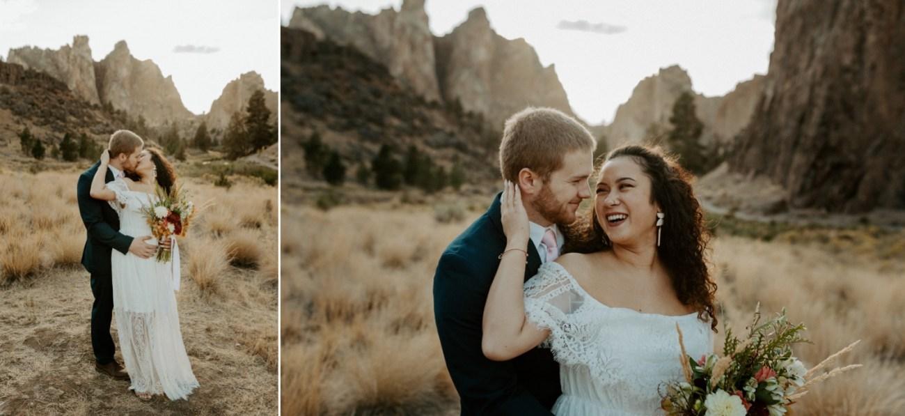 Smith Rock Elopement Bend Elopement Photographer Bend Wedding Photographer Fall Bend Wedding Anais Possamai Photography 024