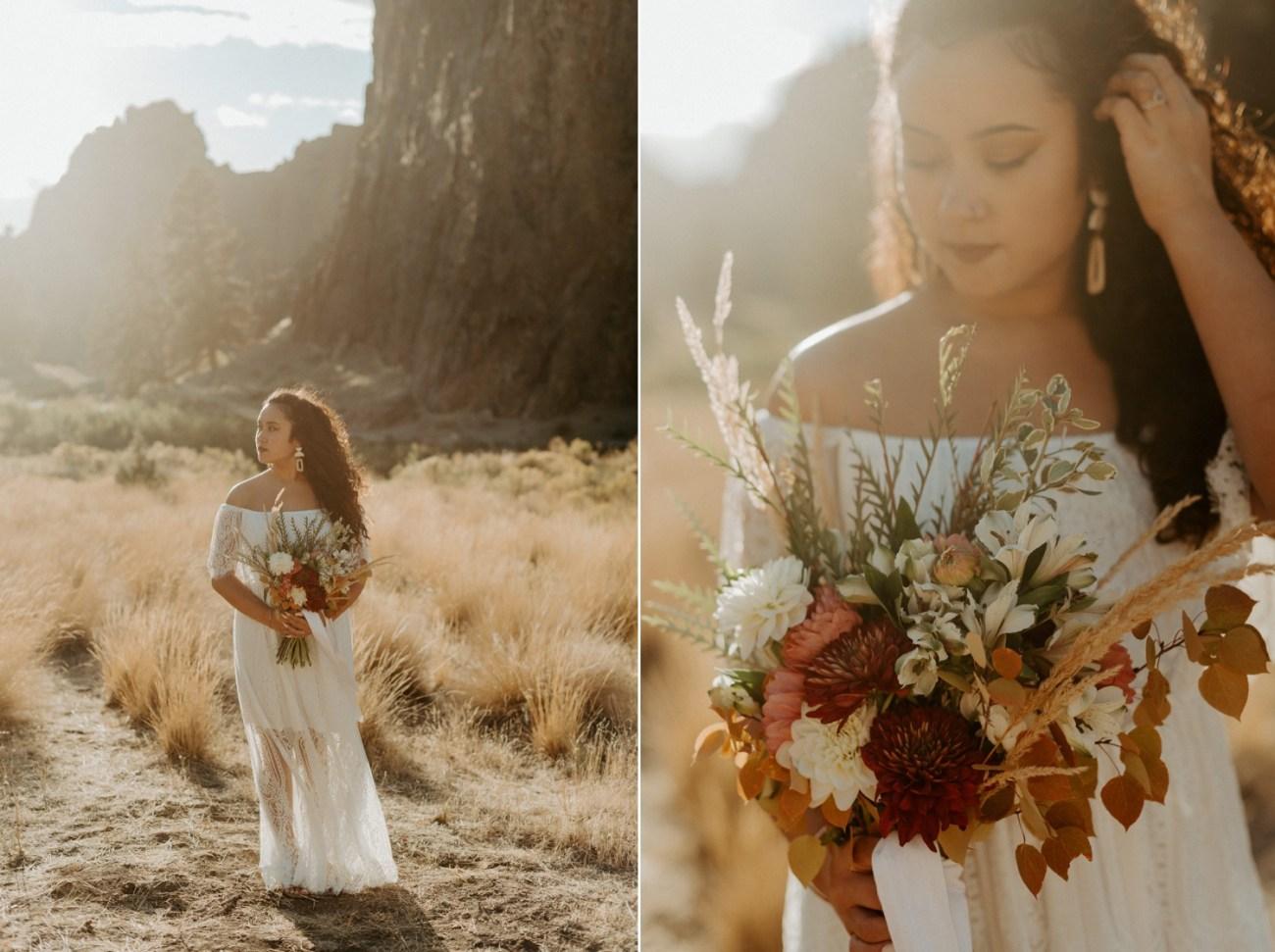 Smith Rock Elopement Bend Elopement Photographer Bend Wedding Photographer Fall Bend Wedding Anais Possamai Photography 026