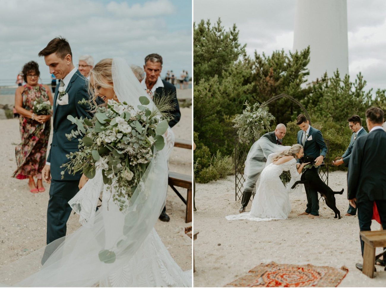 Long Beach Island Wedding Barnegat Lighthouse Wedding Ceremony New Jersey Wedding Anais Possamai Photography Oregon Wedding Photographer 0031