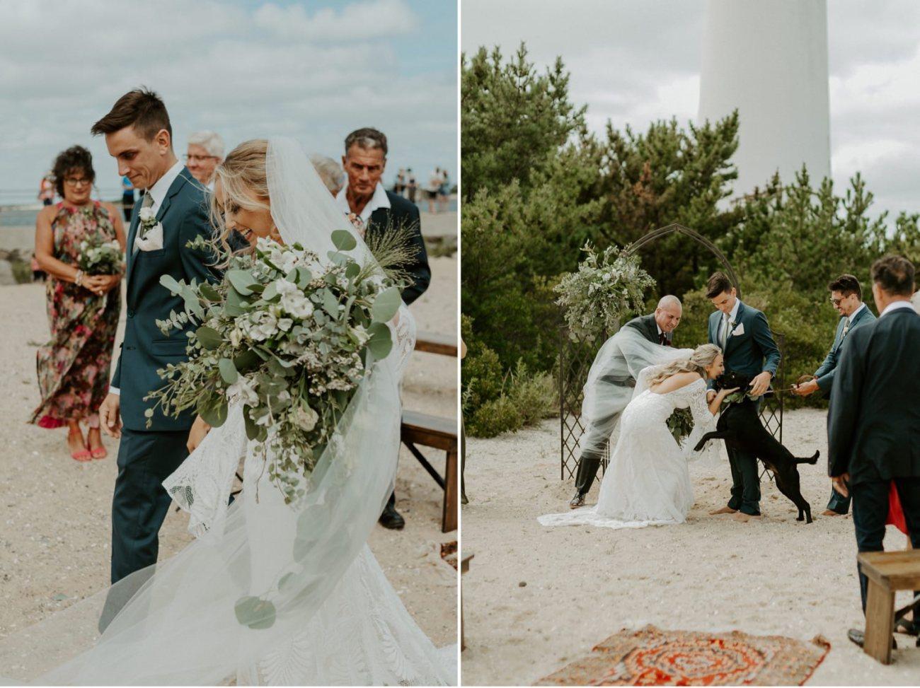 Long Beach Island Wedding Barnegat Lighthouse Wedding Ceremony New Jersey Wedding Anais Possamai Photography Oregon Wedding Photographer 0031