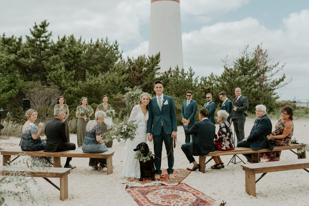 Long Beach Island Wedding Barnegat Lighthouse Wedding Ceremony New Jersey Wedding Anais Possamai Photography Oregon Wedding Photographer 0040