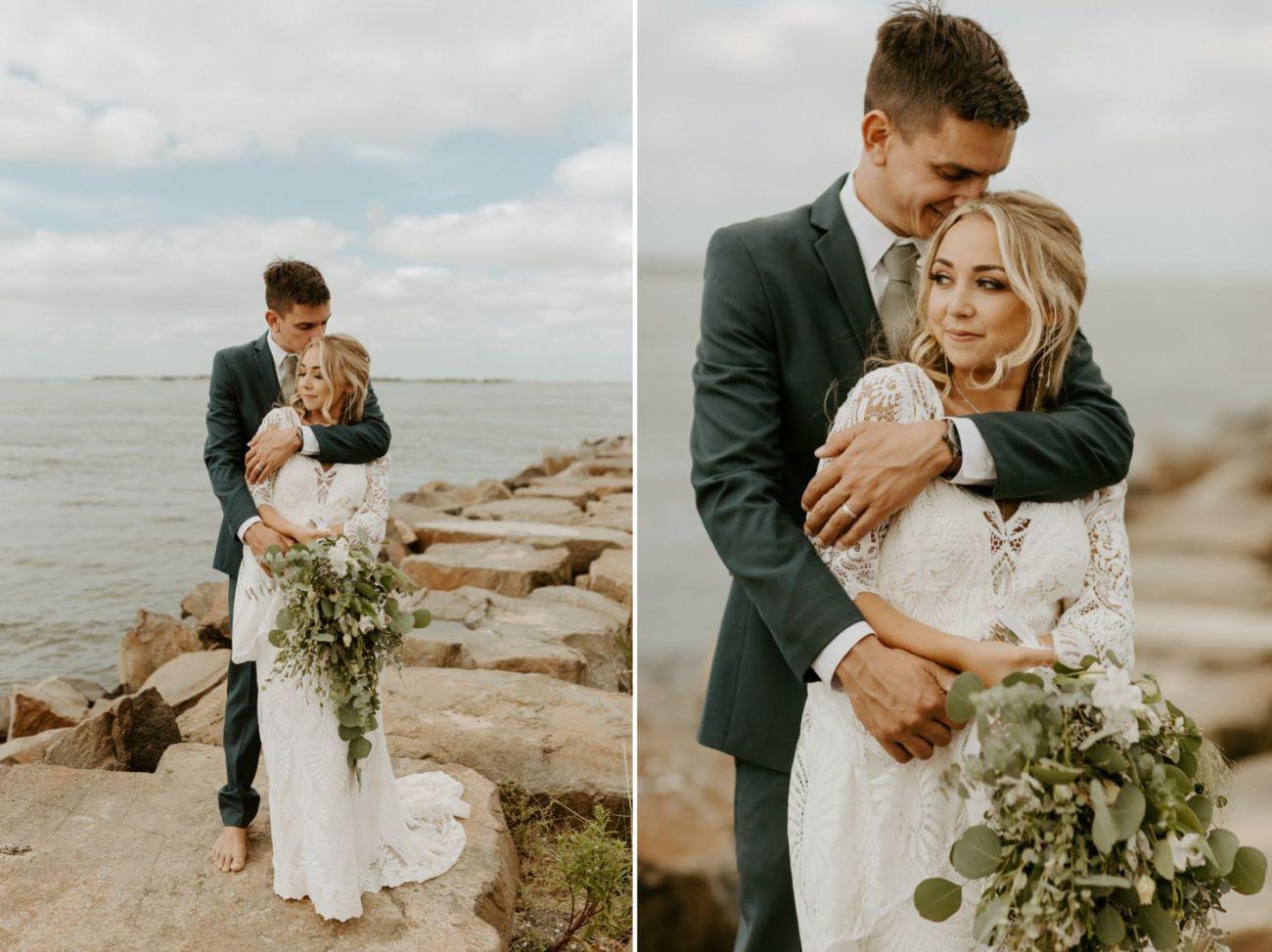 Long Beach Island Wedding Barnegat Lighthouse Wedding Ceremony New Jersey Wedding Anais Possamai Photography Oregon Wedding Photographer 0045