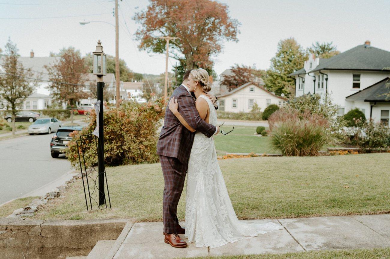 New Jersey Fall Backyard Wedding Bend Wedding Photographer NJ Wedding Photographer Anais Possamai Photography 008