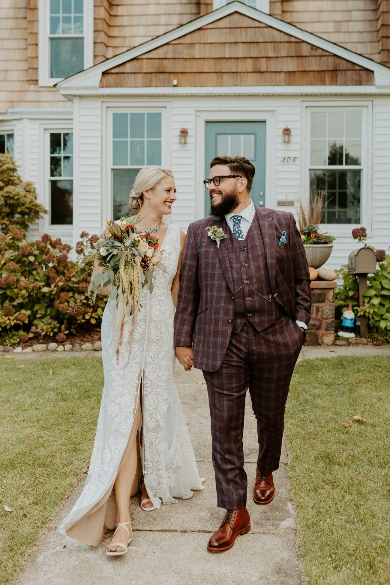 New Jersey Fall Backyard Wedding Bend Wedding Photographer NJ Wedding Photographer Anais Possamai Photography 009