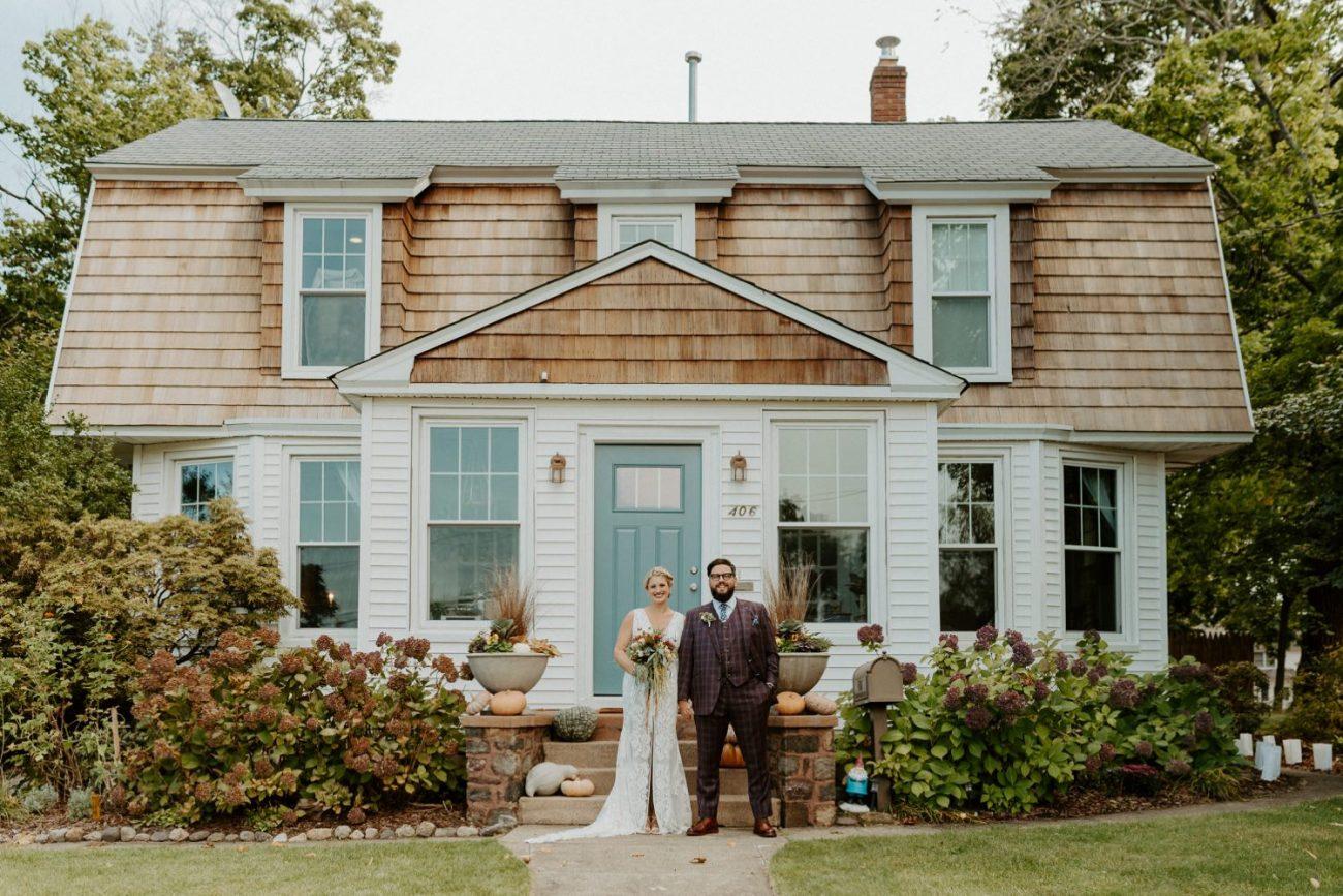 New Jersey Fall Backyard Wedding Bend Wedding Photographer NJ Wedding Photographer Anais Possamai Photography 010