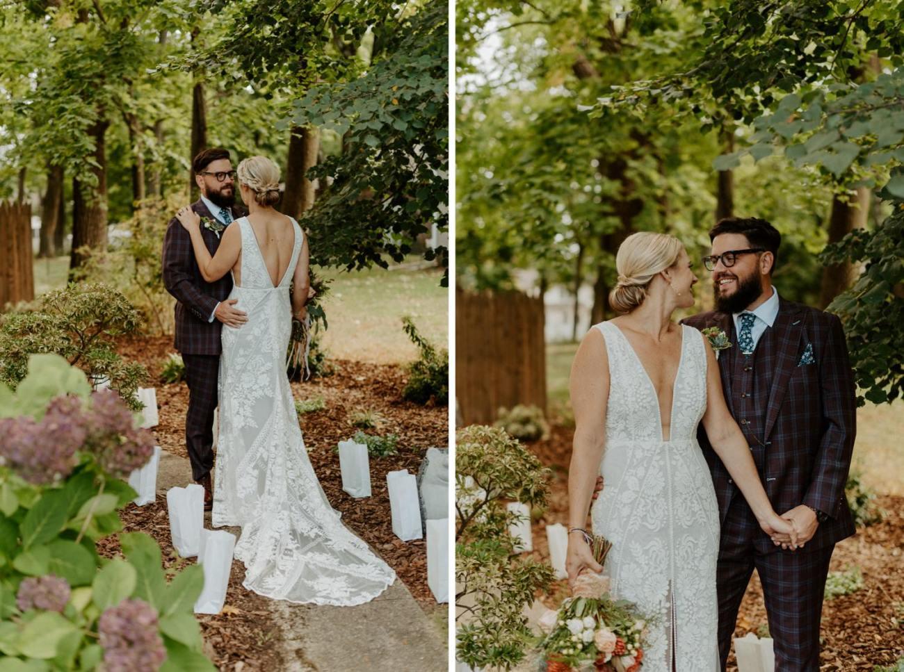 New Jersey Fall Backyard Wedding Bend Wedding Photographer NJ Wedding Photographer Anais Possamai Photography 014
