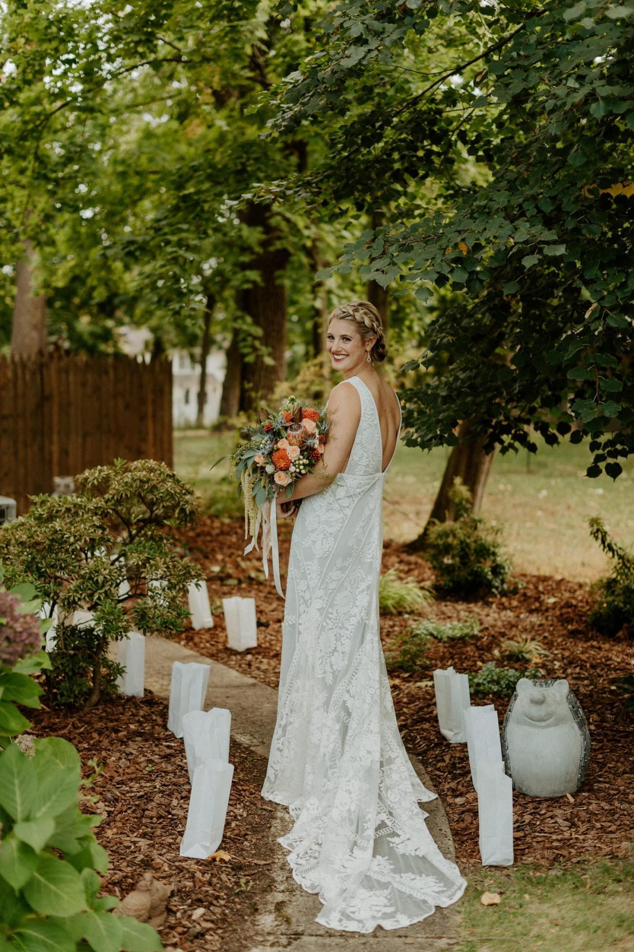 New Jersey Fall Backyard Wedding Bend Wedding Photographer NJ Wedding Photographer Anais Possamai Photography 015