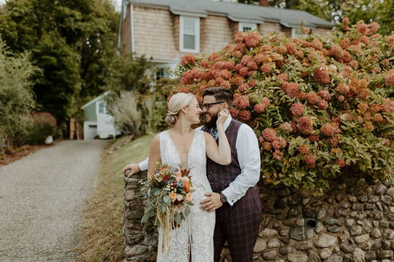 New Jersey Fall Backyard Wedding Bend Wedding Photographer NJ Wedding Photographer Anais Possamai Photography 024