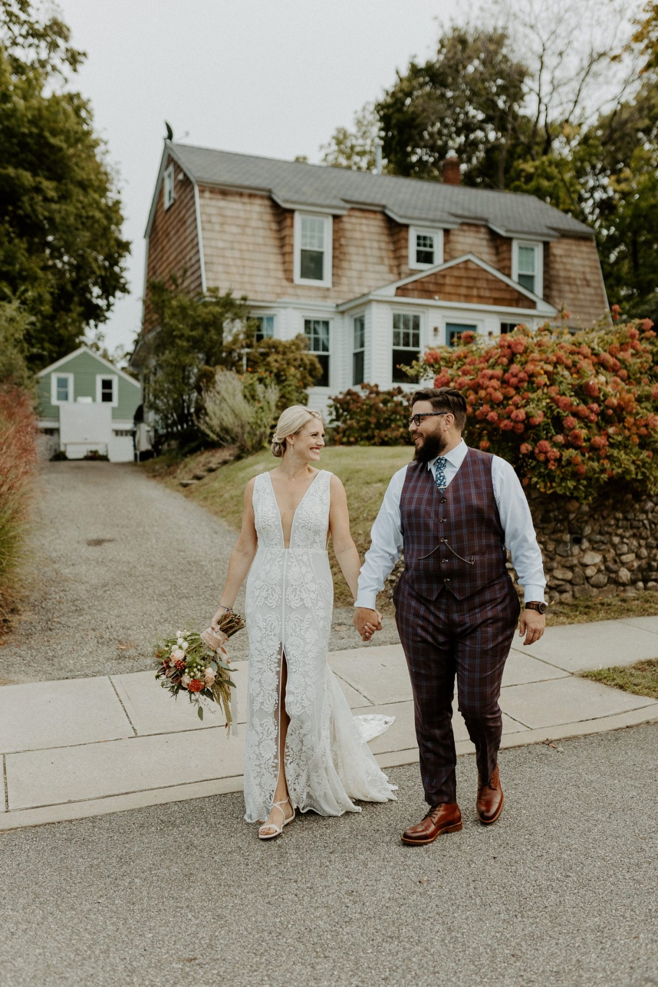 New Jersey Fall Backyard Wedding Bend Wedding Photographer NJ Wedding Photographer Anais Possamai Photography 025