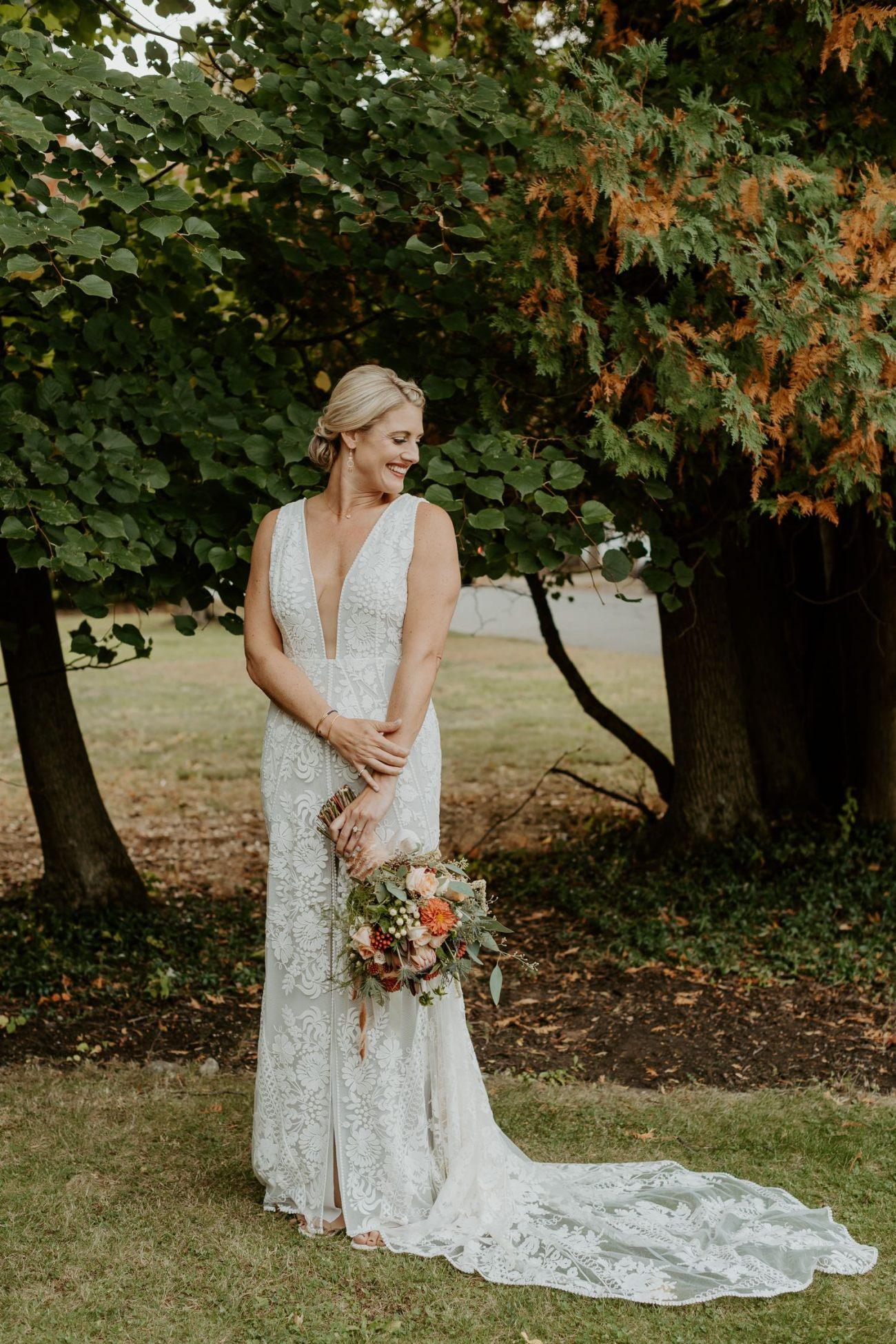 New Jersey Fall Backyard Wedding Bend Wedding Photographer NJ Wedding Photographer Anais Possamai Photography 026