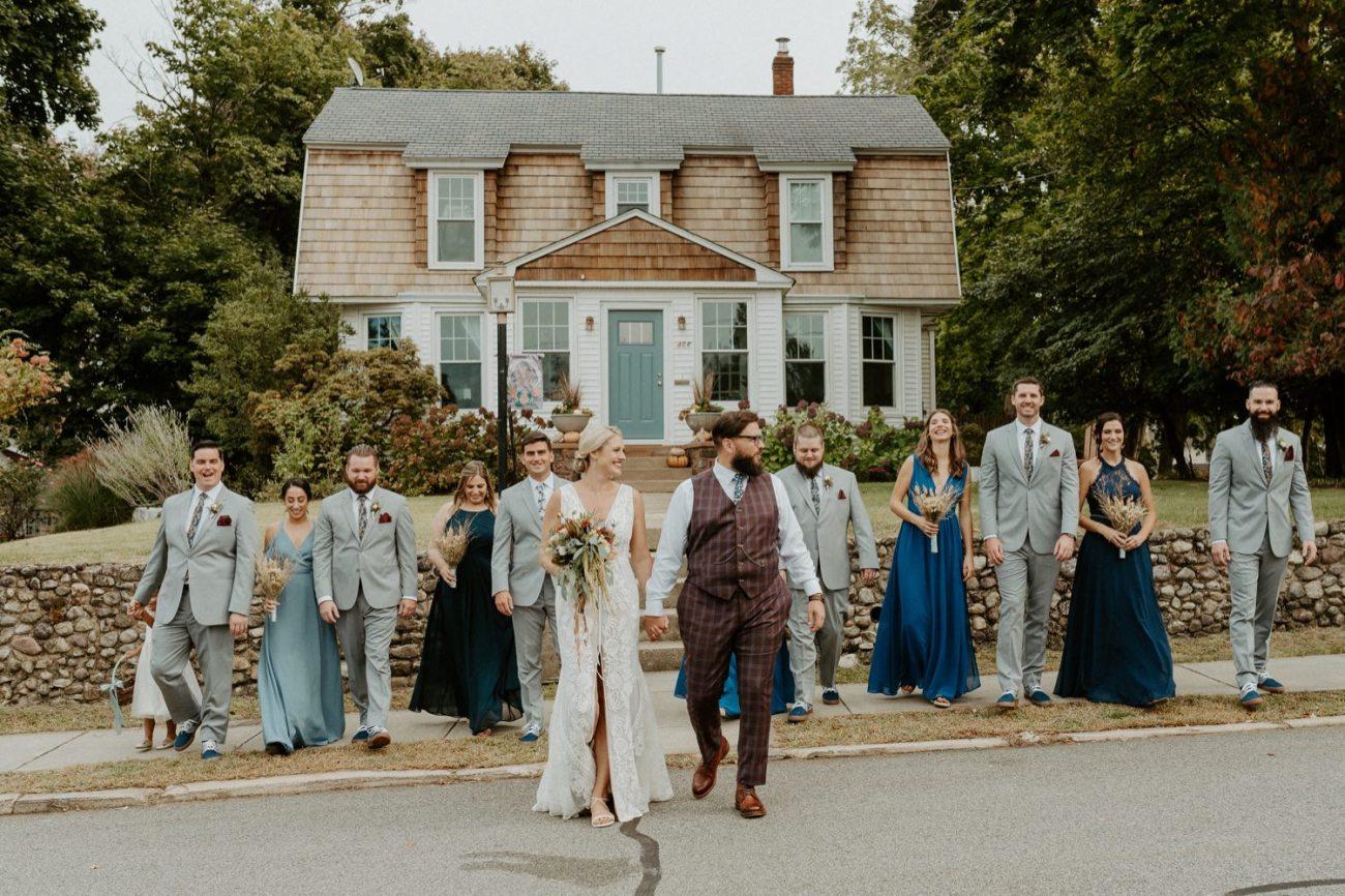 New Jersey Fall Backyard Wedding Bend Wedding Photographer NJ Wedding Photographer Anais Possamai Photography 029