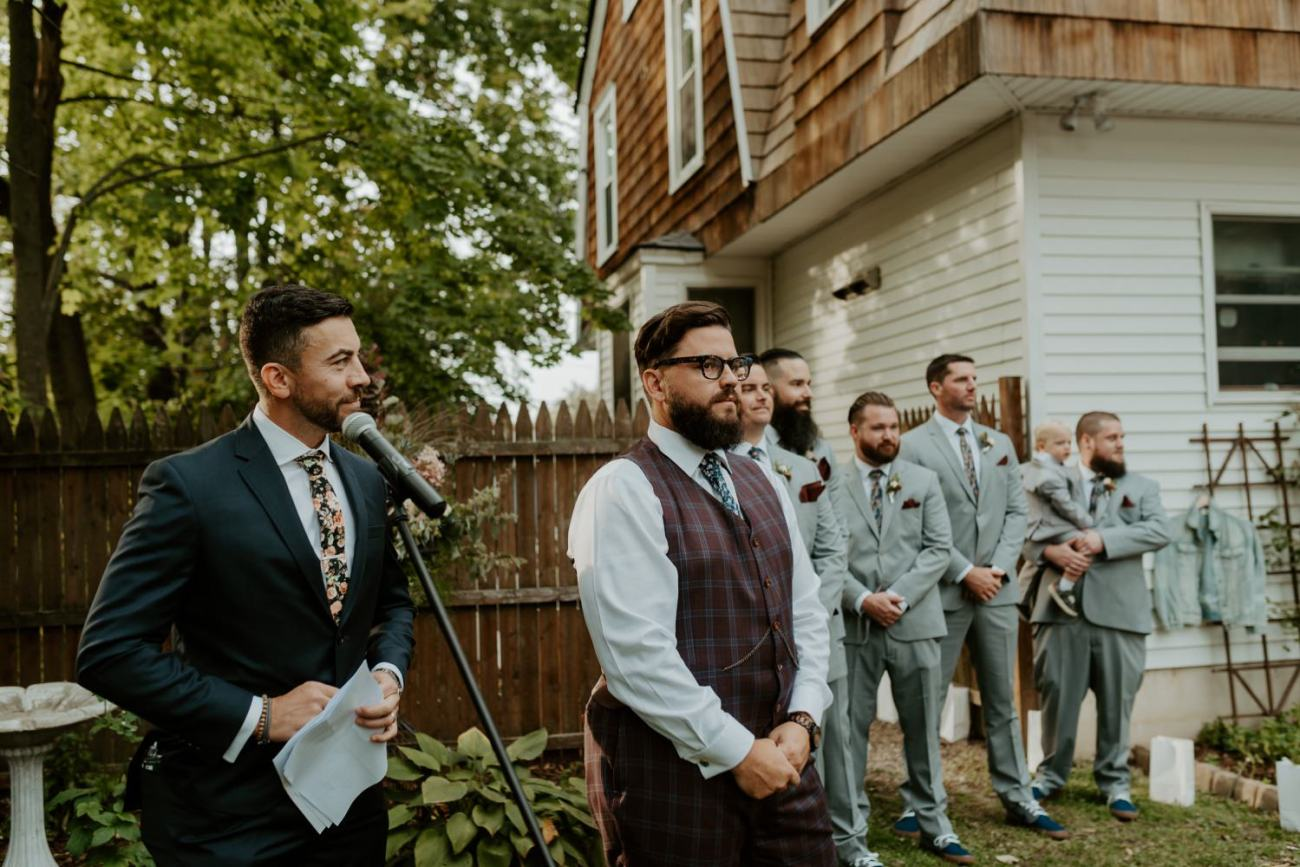 New Jersey Fall Backyard Wedding Bend Wedding Photographer NJ Wedding Photographer Anais Possamai Photography 039