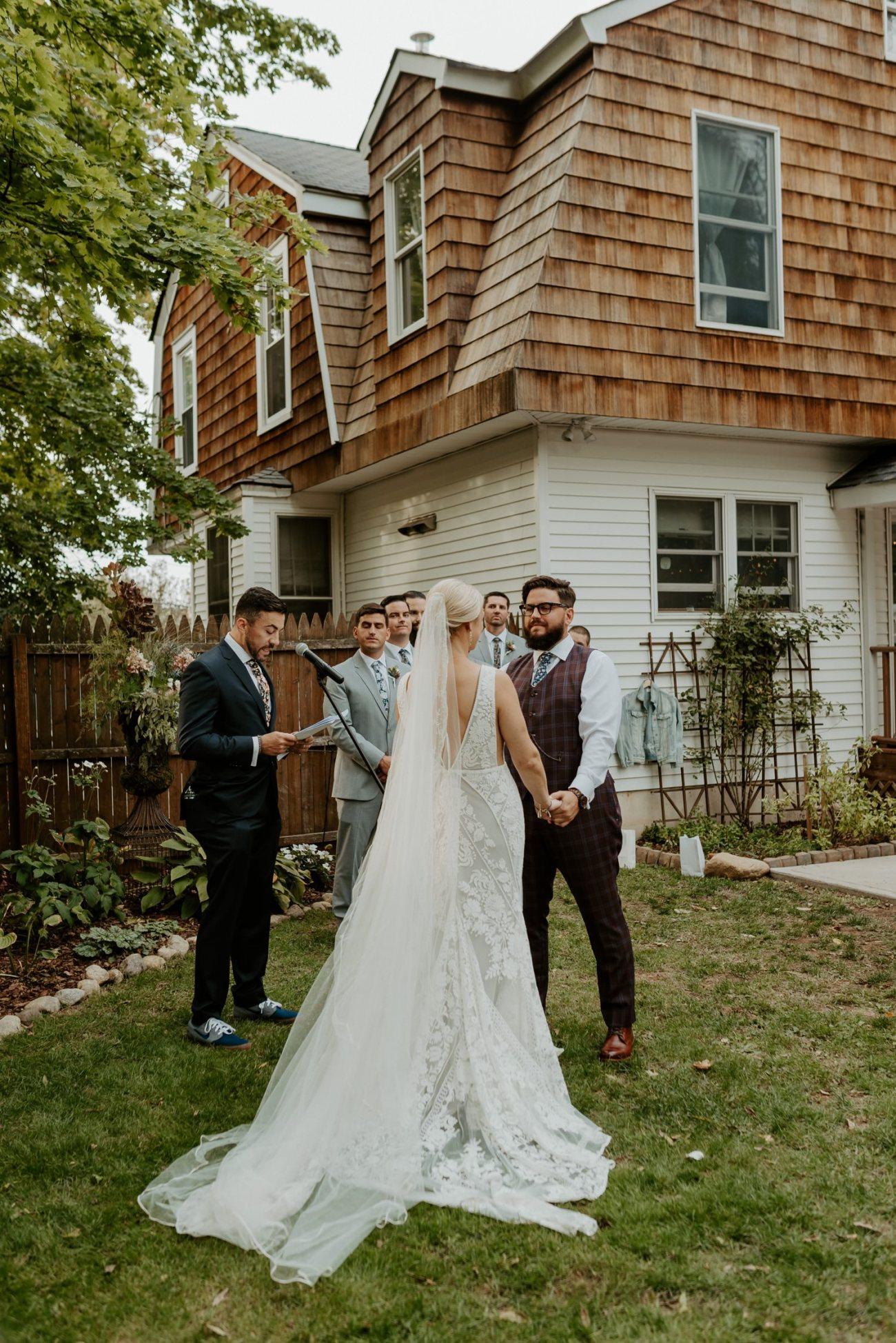 New Jersey Fall Backyard Wedding Bend Wedding Photographer NJ Wedding Photographer Anais Possamai Photography 042