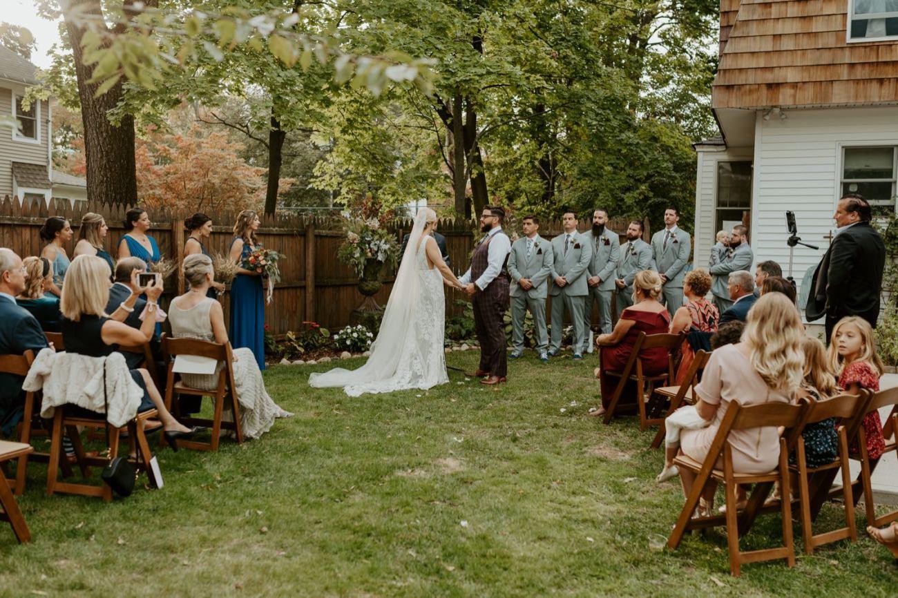 New Jersey Fall Backyard Wedding Bend Wedding Photographer NJ Wedding Photographer Anais Possamai Photography 045