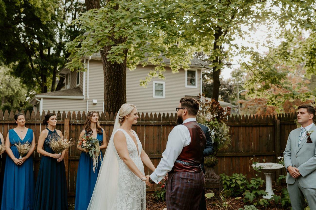 New Jersey Fall Backyard Wedding Bend Wedding Photographer NJ Wedding Photographer Anais Possamai Photography 048