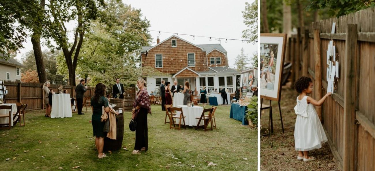 New Jersey Fall Backyard Wedding Bend Wedding Photographer NJ Wedding Photographer Anais Possamai Photography 063