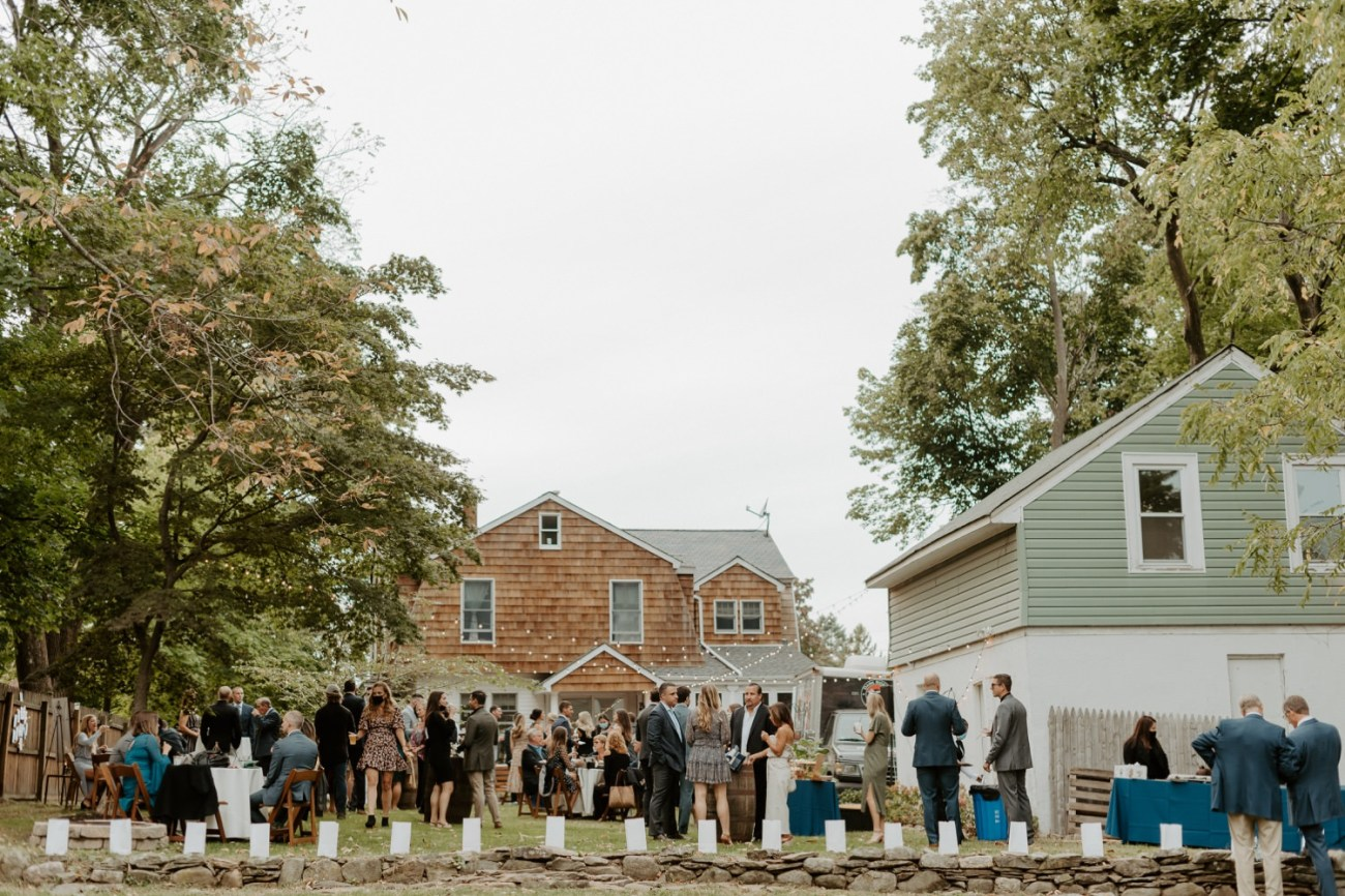 New Jersey Fall Backyard Wedding Bend Wedding Photographer NJ Wedding Photographer Anais Possamai Photography 064