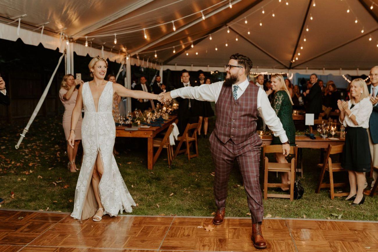 New Jersey Fall Backyard Wedding Bend Wedding Photographer NJ Wedding Photographer Anais Possamai Photography 073