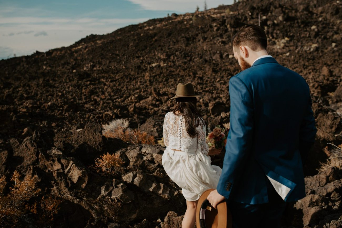 Newberry Volcano Elopement Bend Elopement Bridal Session Bend Wedding Photographer Anais Possamai Photography 002