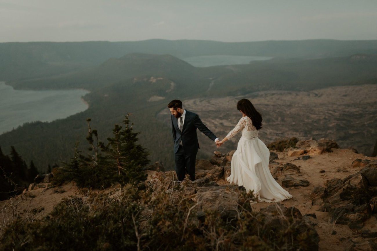 Newberry Volcano Elopement Bend Elopement Bridal Session Bend Wedding Photographer Anais Possamai Photography 044
