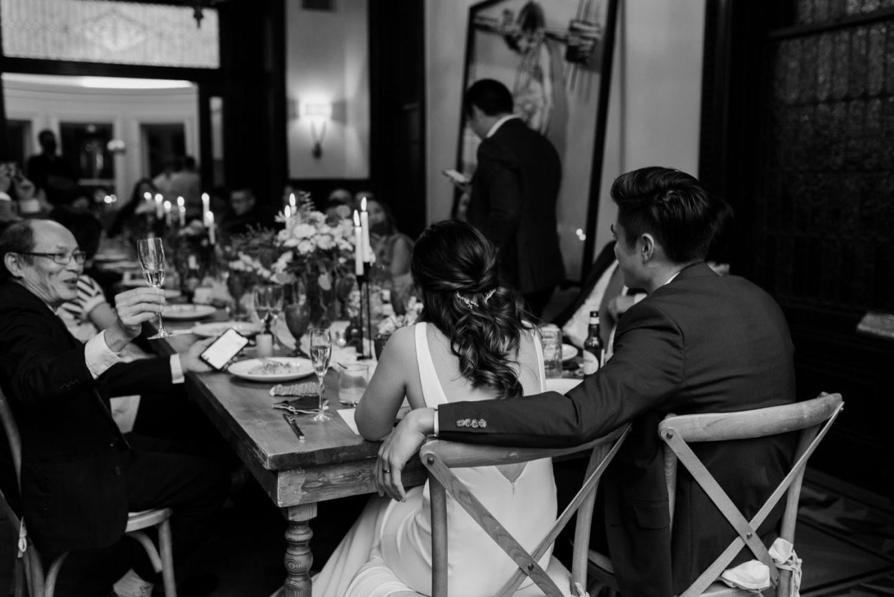 Brooklyn Backyard Wedding In Brownstone House New York City Wedding Photographer Anais Possamai Photography 39