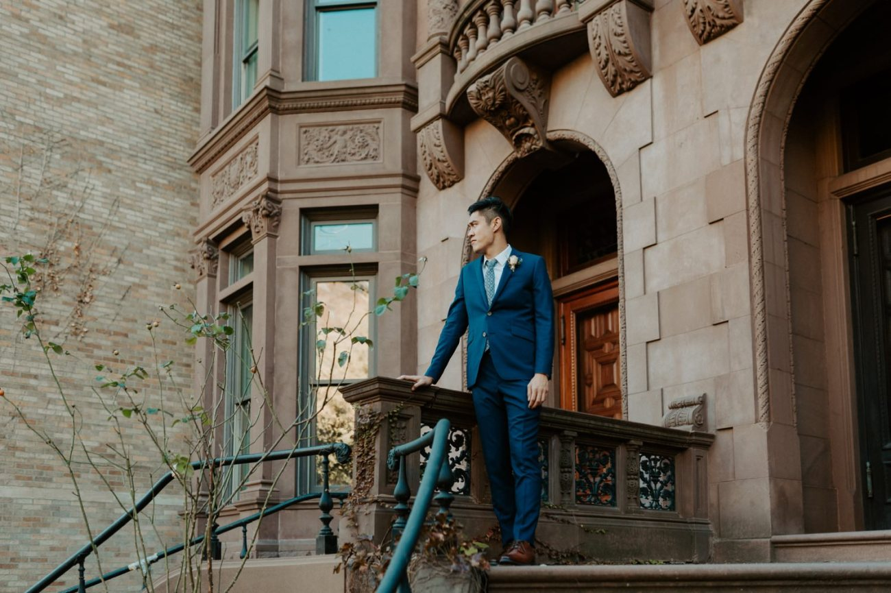 Brooklyn Brownstone House Backyard Wedding New York Wedding Photographer Anais Possamai Photography 12