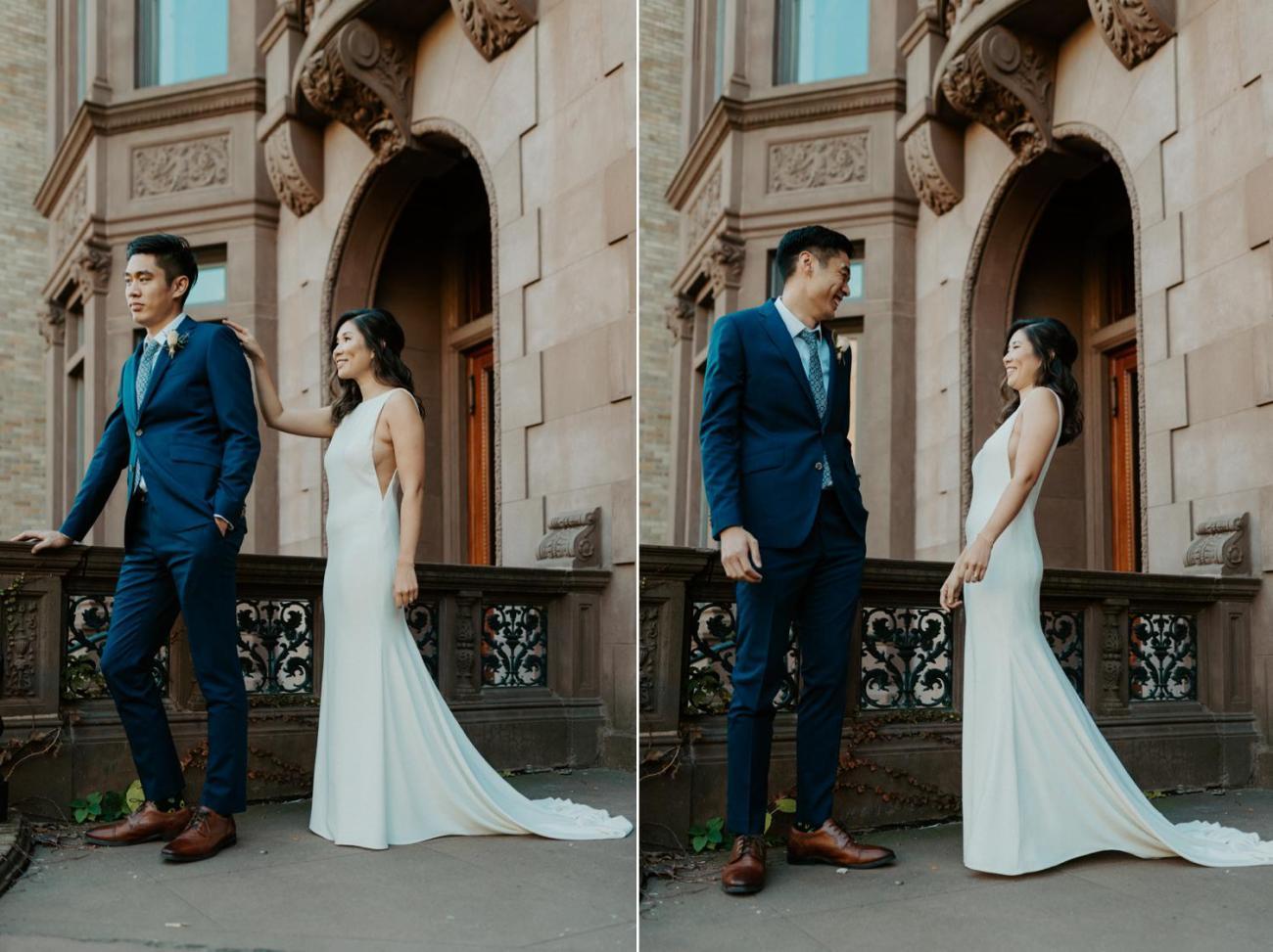 Brooklyn Brownstone House Backyard Wedding New York Wedding Photographer Anais Possamai Photography 13