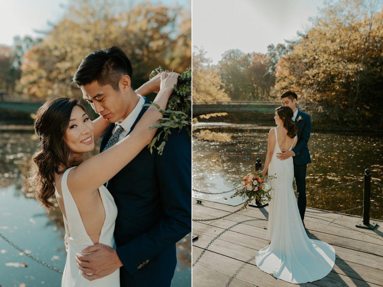 Prospect Park Brooklyn Wedding Fall Wedding In NYC New York Wedding Photographer Anais Possamai Photography 03
