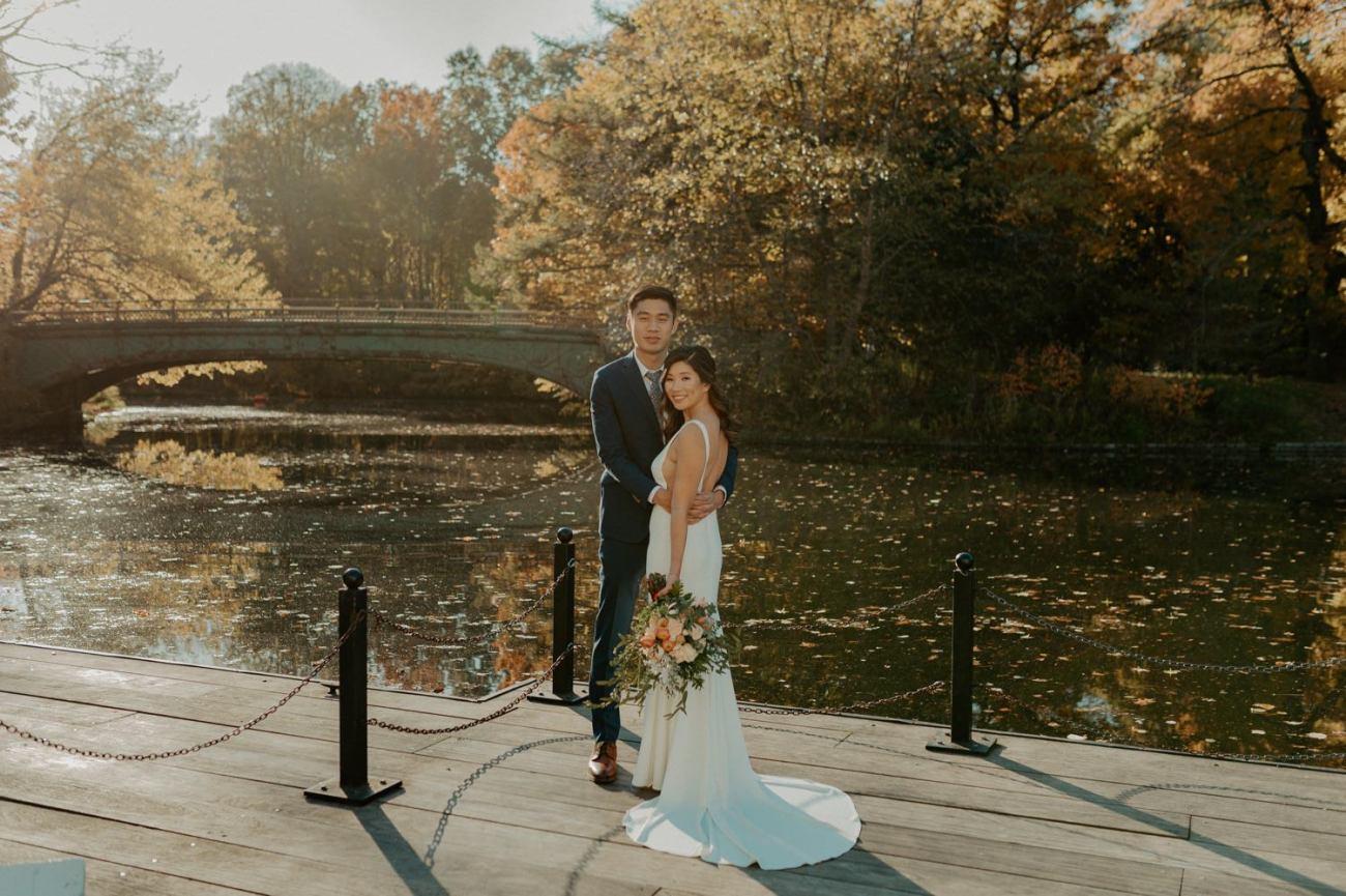 Prospect Park Brooklyn Wedding Fall Wedding In NYC New York Wedding Photographer Anais Possamai Photography 05