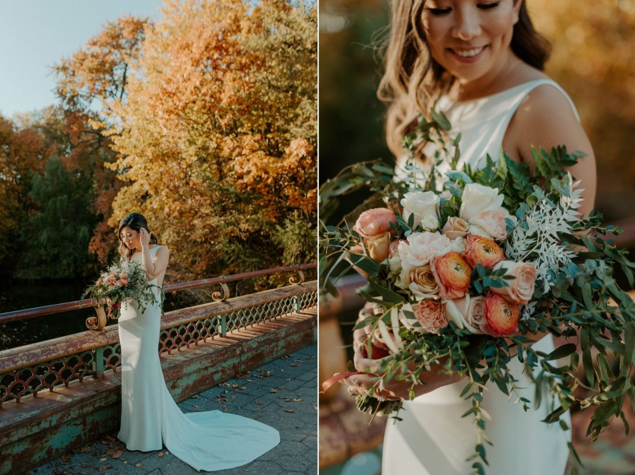 Prospect Park Brooklyn Wedding Fall Wedding In NYC New York Wedding Photographer Anais Possamai Photography 10