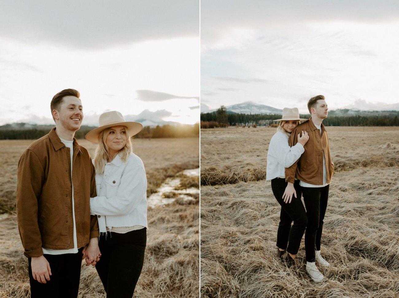 Black Butte Ranch Sisters Oregon Engagement Session Bend Wedding Photographer Anais Possamai Photography 009