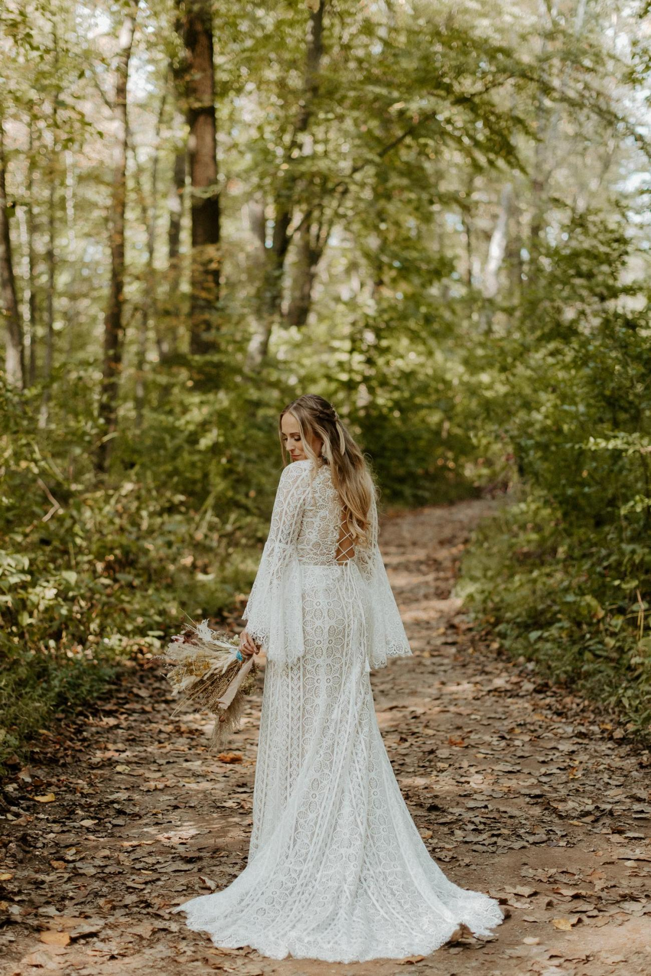New Jersey Backyard Wedding Vintage Boho Wedding Hemlock Falls NJ Bend Oregon Wedding Phtographer Anais Possamai Photography 029