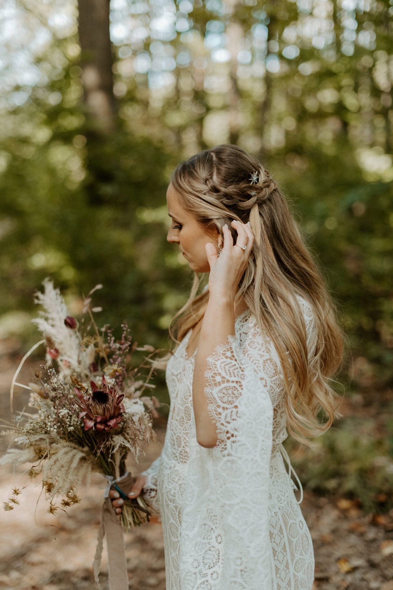 New Jersey Backyard Wedding Vintage Boho Wedding Hemlock Falls NJ Bend Oregon Wedding Phtographer Anais Possamai Photography 031