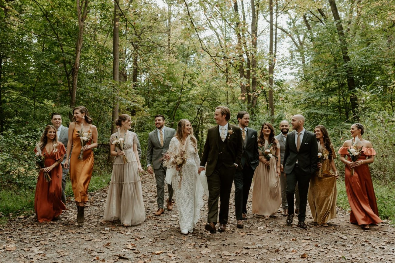 New Jersey Backyard Wedding Vintage Boho Wedding Hemlock Falls NJ Bend Oregon Wedding Phtographer Anais Possamai Photography 036