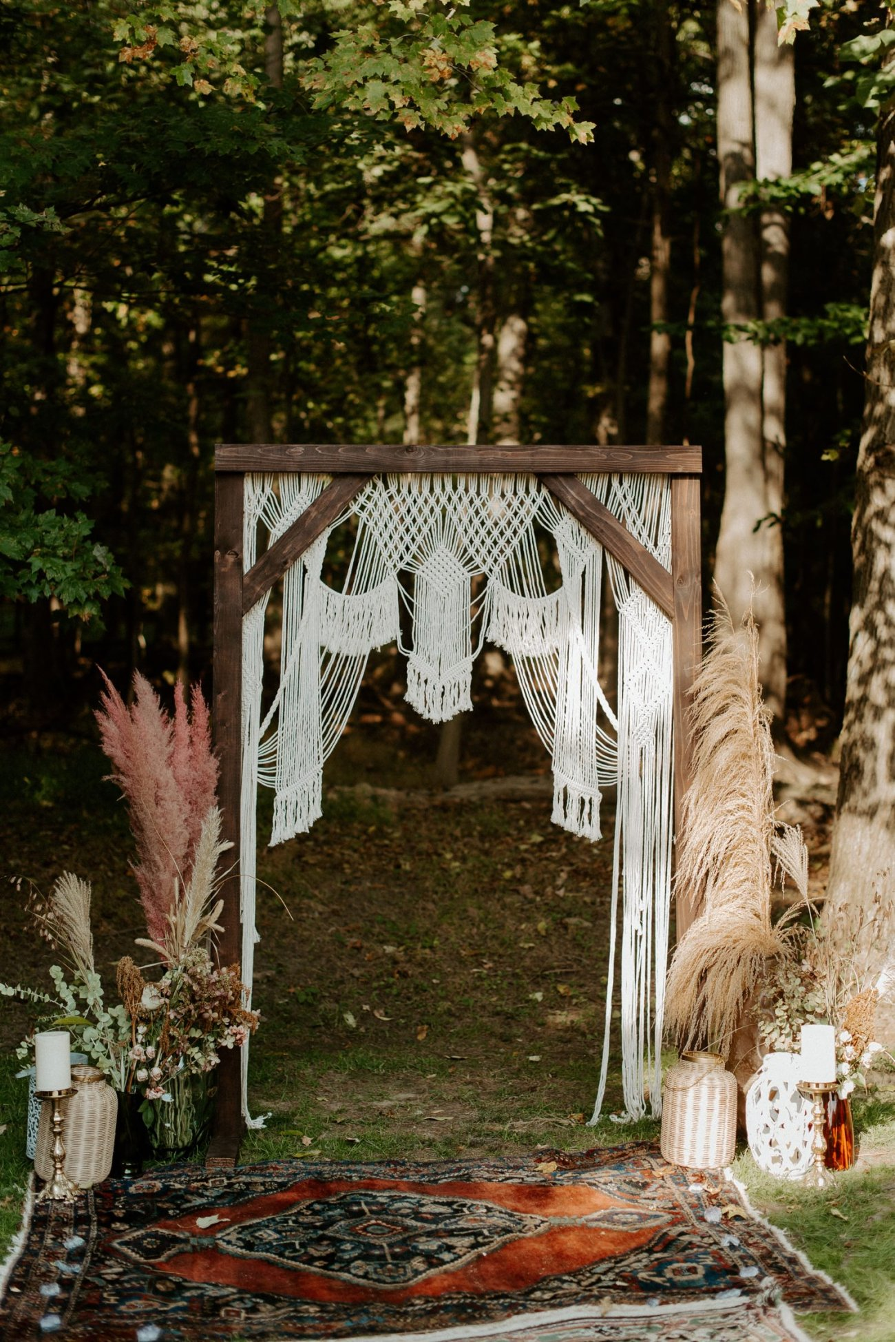 Vintage Boho Diy Backyard Wedding In New Jersey Anais Possamai Photography 063