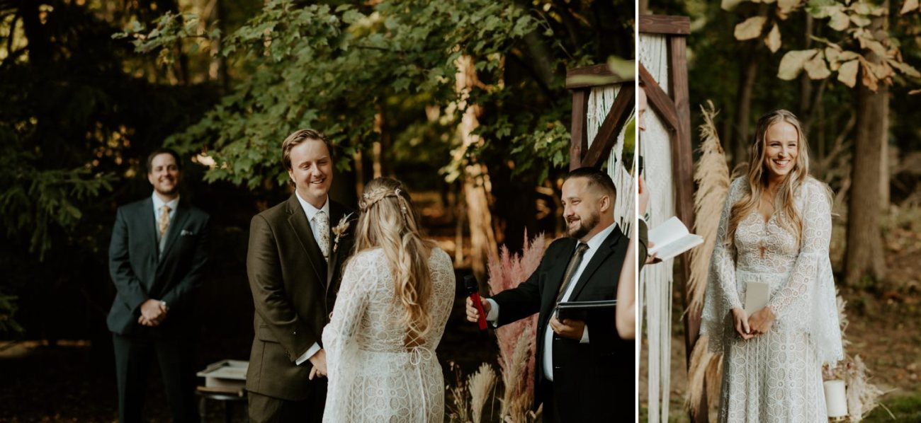 Vintage Boho Diy Backyard Wedding In New Jersey Anais Possamai Photography 072