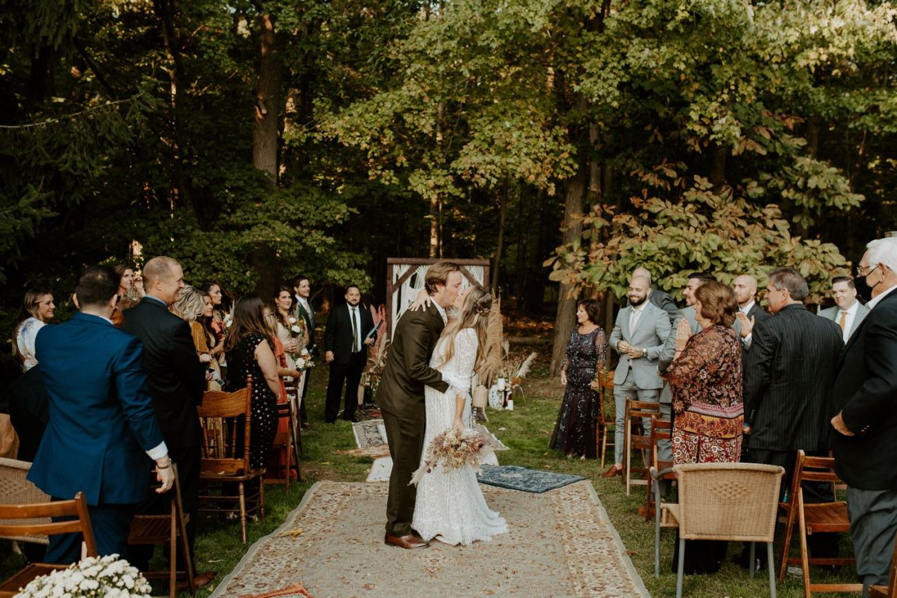 Vintage Boho Diy Backyard Wedding In New Jersey Anais Possamai Photography 078