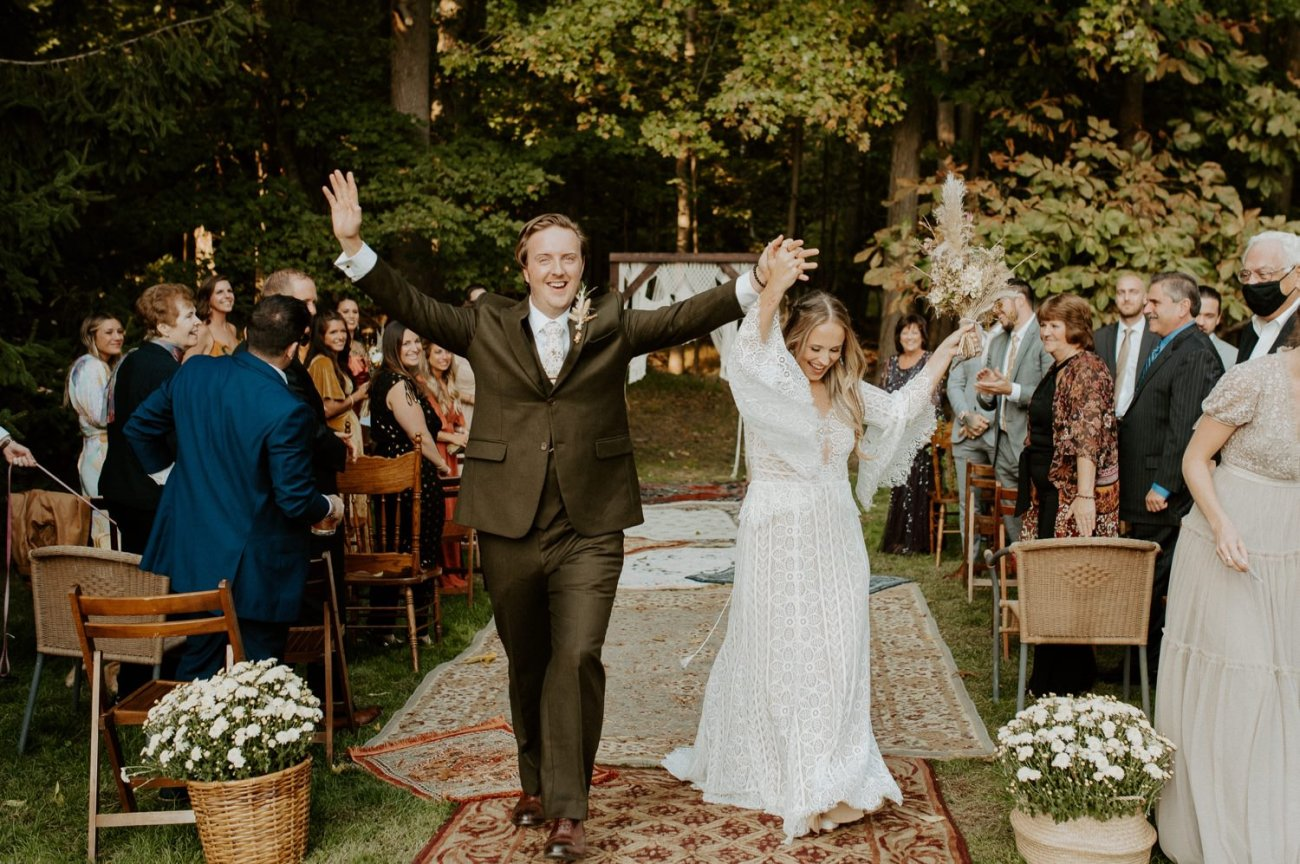 Vintage Boho Diy Backyard Wedding In New Jersey Anais Possamai Photography 079