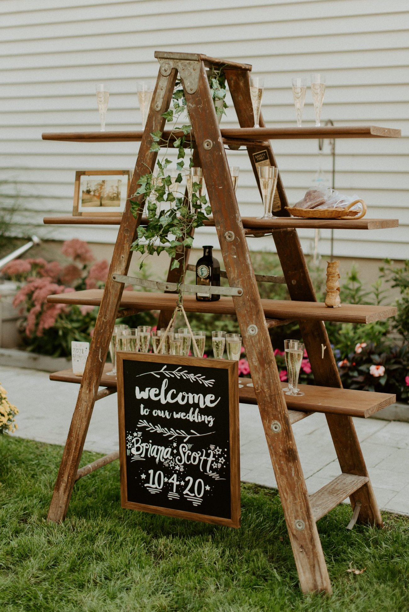 Vintage Boho Diy Backyard Wedding In New Jersey Anais Possamai Photography 081